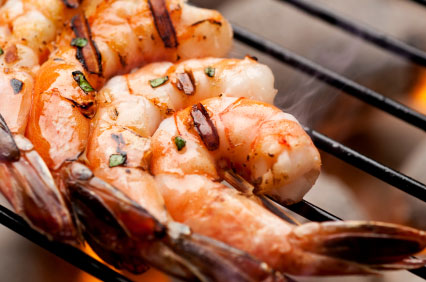 ... : Keep it Low in Fat with Grilled Shrimp Scampi | The Chocolate Voice