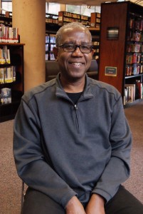 Marc Chery, is a librarian at the San Diego Public Library - Central Branch and currently the coordinator of One Book, One San Diego.